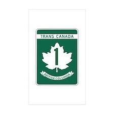 Trans-Canada Highway, British Columbia Decal