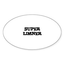 SUPER LIMNER Oval Decal
