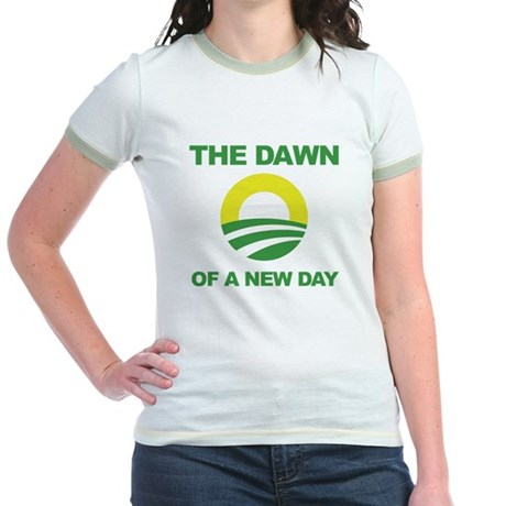 The Dawn of a New Day Obama Jr. Ringer T-Shirt