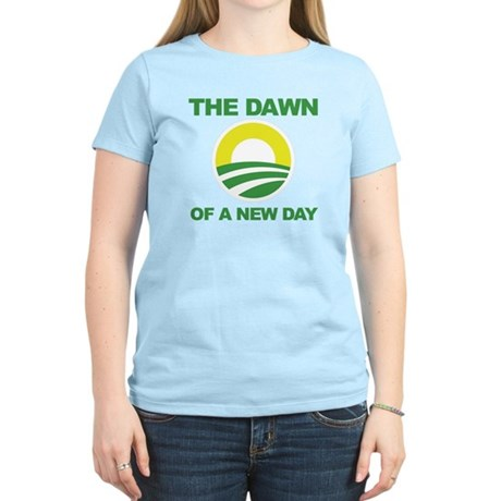 The Dawn of a New Day Obama Women's Light T-Shirt
