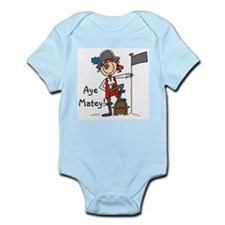 Aye Matey Pirate Infant Bodysuit