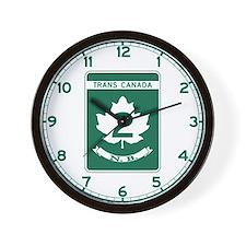 Trans-Canada Highway, New Brunswick Wall Clock