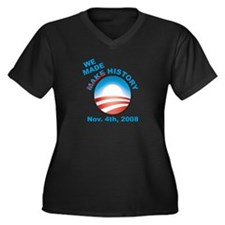 President Obama - We Made History Women's Plus Siz