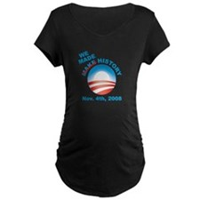 President Obama - We Made History T-Shirt