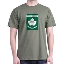 Trans-Canada Highway, Ontario T-Shirt