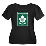 Trans-Canada Highway, Ontario Women's Plus Size Sc