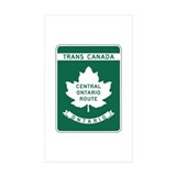 Trans-Canada Highway, Ontario Rectangle Sticker 1
