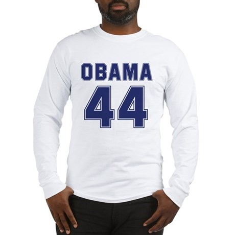Obama 44th President Long Sleeve T-Shirt
