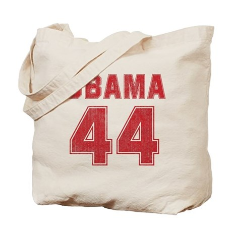 44th President (red vintage) Tote Bag