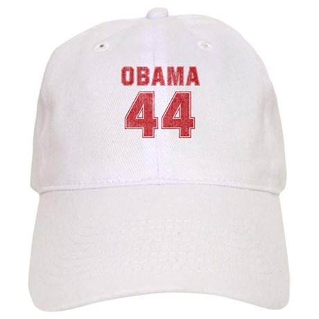 44th President (red vintage) Cap