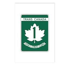 Trans-Canada Highway, Prince Edward Island Postcar