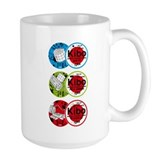 Kibo 3 Patch Mug