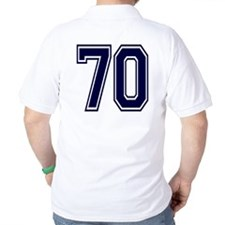 NUMBER 70 BACK T-Shirt