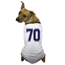 NUMBER 70 FRONT Dog T-Shirt