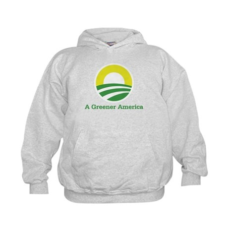 Obama for a Greener America Kids Hoodie