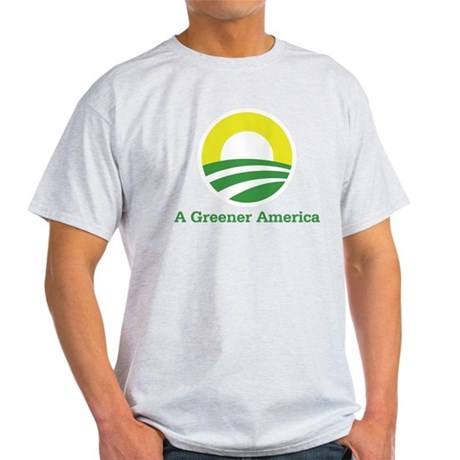 Obama for a Greener America Light T-Shirt