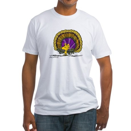 Woodstock Turkey Fitted T-Shirt