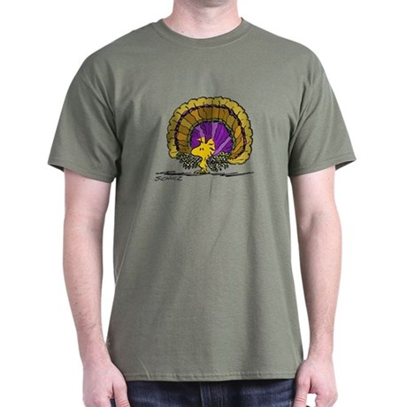 Woodstock Turkey Dark T-Shirt
