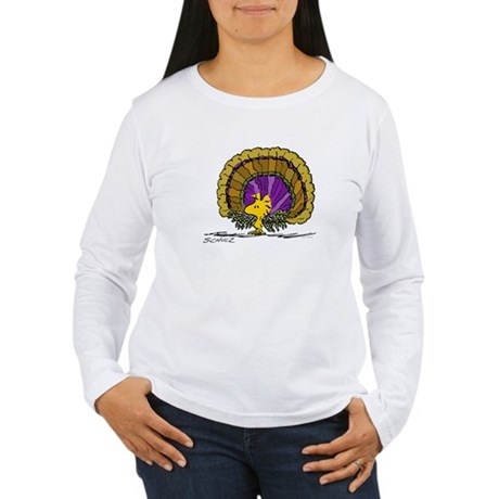Woodstock Turkey Women's Long Sleeve T-Shirt