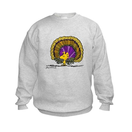 Woodstock Turkey Kids Sweatshirt