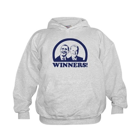 Winners! Obama and Biden Kids Hoodie