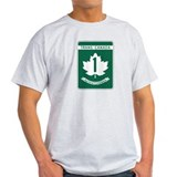 Trans-Canada Highway, Saskatchewan T-Shirt