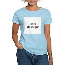 SUPER LANDLADY Women's Pink T-Shirt