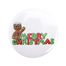 "CHRISTMAS COOKIES 3.5"" Button (100 pack)"