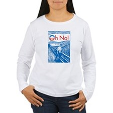 Oh No Obama - Scream T-Shirt