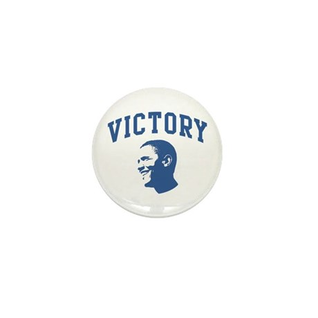Victory (Obama Face) Mini Button