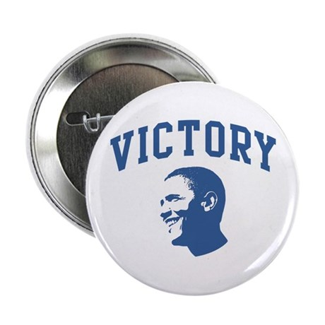 Victory (Obama Face) 2.25&quot; Button
