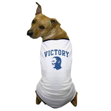 Victory (Obama Face) Dog T-Shirt