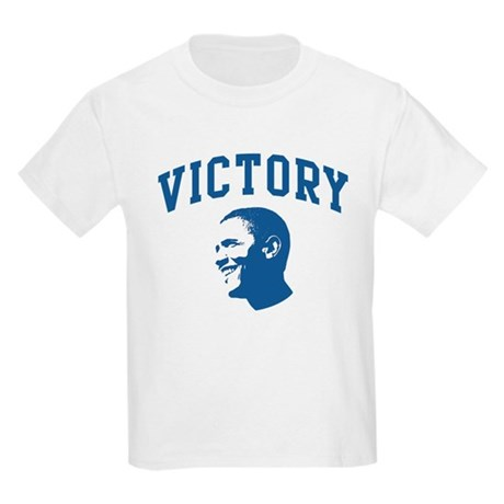 Victory (Obama Face) Kids Light T-Shirt