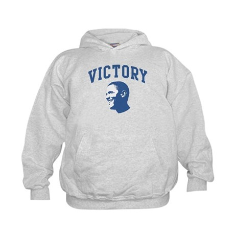 Victory (Obama Face) Kids Hoodie