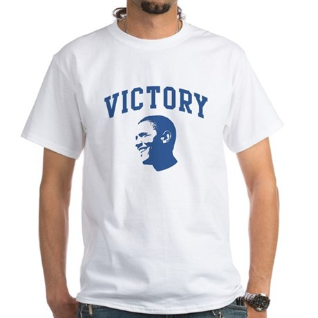 Victory (Obama Face) White T-Shirt