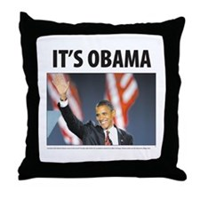 It's Obama Throw Pillow