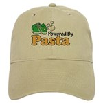 Powered By Pasta Funny Runner Cap