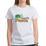 Powered By Pasta Funny Runner Women's T-Shirt