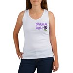 Flower Power Obama Girl Women's Tank Top