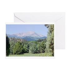 Pikes Peak Blank Greeting Cards (Pk of 10)