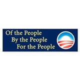 Of the People: Bumper Sticker (50 pk)