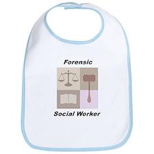 Forensic Social Worker Bib