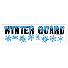 Winter Guard Bumper Bumper Sticker