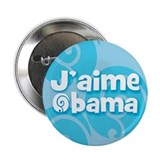 J'aime Obama (French) I love Obama (100 pack)