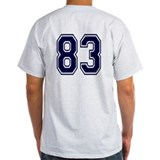 NUMBER 83 BACK T-Shirt