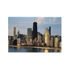 Chicago from Lake Shore Drive Rectangle Magnet (10