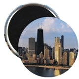 "Chicago from Lake Shore Drive 2.25"" Magnet (1"
