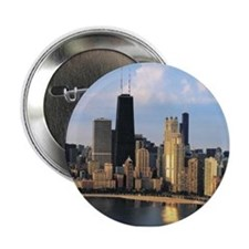"Chicago from Lake Shore Drive 2.25"" Button"