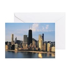 Chicago from Lake Shore Drive Greeting Cards (Pk o