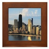 Chicago from Lake Shore Drive Framed Tile